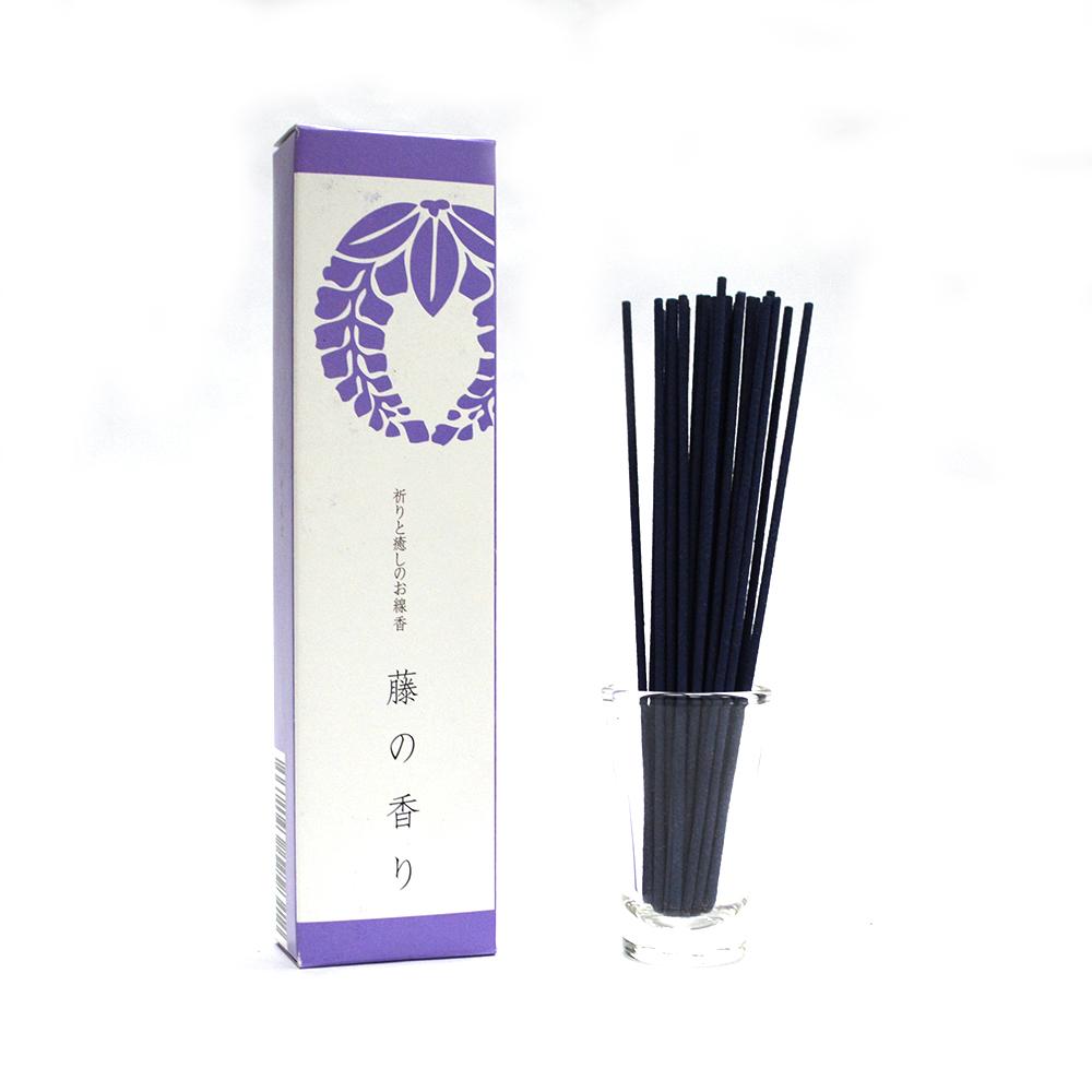 悠悠庵 祈癒之香-紫藤小盒裝線香 40g (原價300)