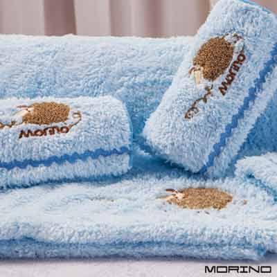 超細纖維兒童刺繡小毛巾-超值4件組-MORINO摩力諾