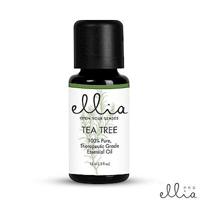 美國 ELLIA 伊莉亞 Tea Tree 茶樹精油 (15ml)