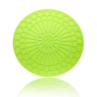 Quasi蔓舞矽膠圓熱墊-綠