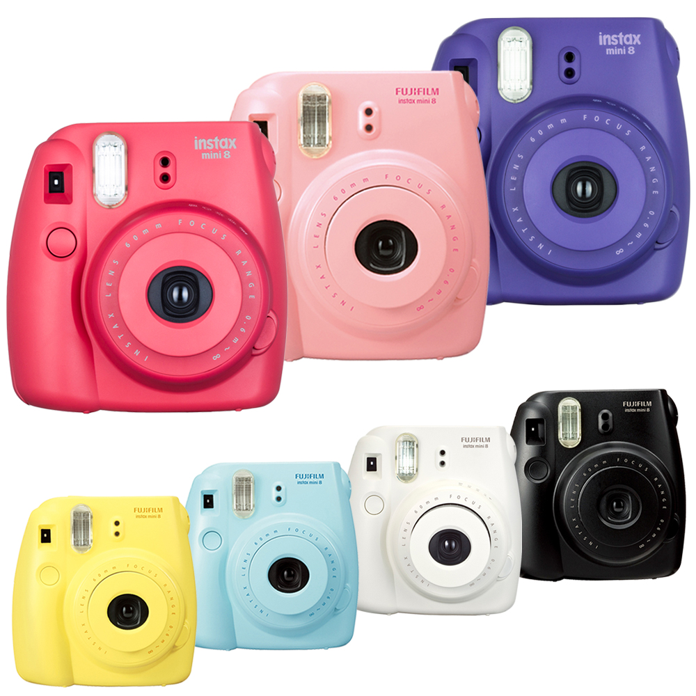 拍立得 FUJIFILM instax mini 8 相機(公司貨)