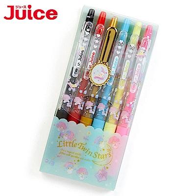 Sanrio 雙星仙子幸福女孩第二彈*PILOT百樂0.5mm Juice果汁筆組-6隻入