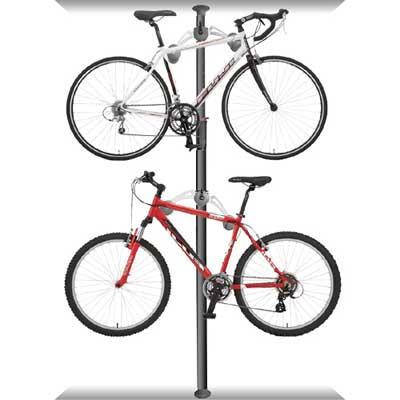 DISPLAY STAND頂天立地自行車停車塔(黑)
