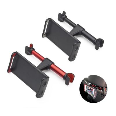 E~books N53 汽車椅背頭枕式鋁合金手機平板支架