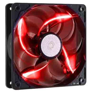 Cooler Master 九葉鎌刀扇- 紅光LED(12公分)