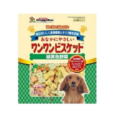 日本DoggyMan《寡糖添加野菜消臭餅乾》450g