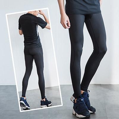 [熱銷回饋8折] LEAP 男子限定Ultra fit 運動壓縮緊身褲