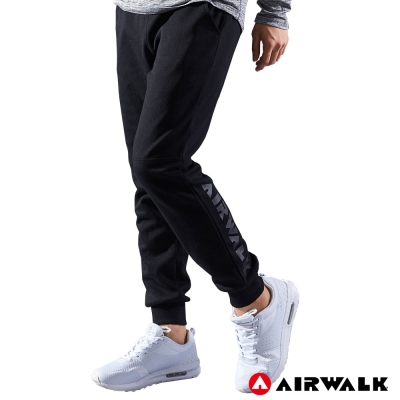【AIRWALK】男款運動休閒長褲-共兩色