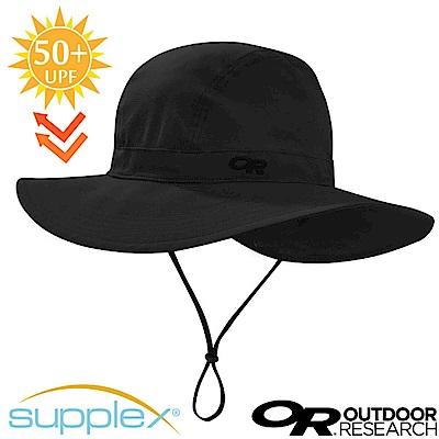 【美國 Outdoor Research】Ferrosi 抗UV防曬大盤帽子_黑