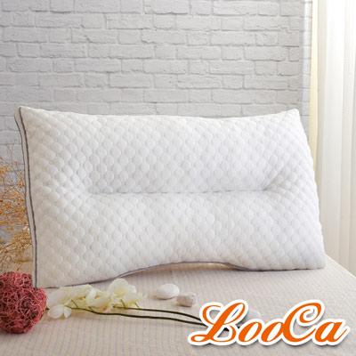 LooCa 調節式智能乳膠獨立筒枕 1入