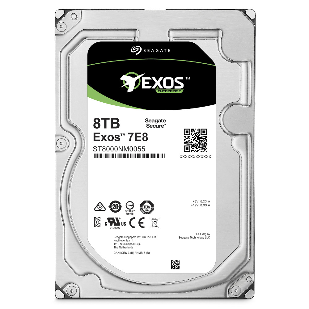 Seagate 8TB 3.5吋 SATA3 7200轉 企業級儲存碟
