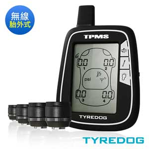TYREDOG 胎外式無線胎壓偵測器