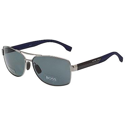 HUGO BOSS 太陽眼鏡 (銀色)BOSS0859FS