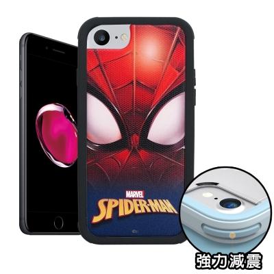 正版授權 iPhone 8/iPhone 7 蜘蛛人 軍規防摔保護殼(紅藍蜘蛛眼...