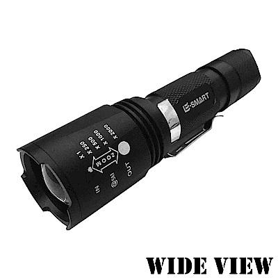 WIDE VIEW五段XML-T6變焦強光手電筒NZL-B8S11-Y