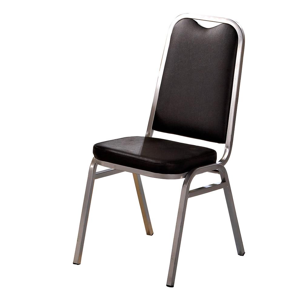 H&D 黑皮勇士餐椅 (寬41.5X深55.5X高92cm)