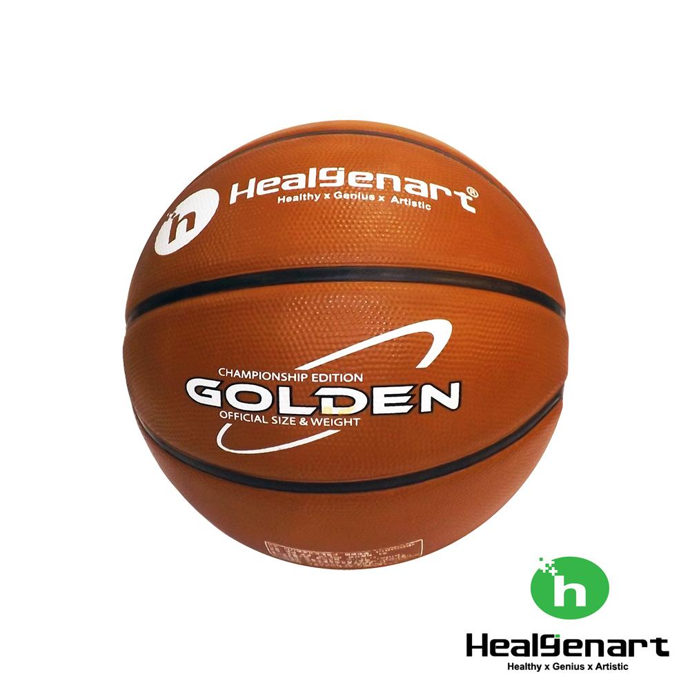 Healgenart GOLDEN 7號高級深溝籃球 橘/黑