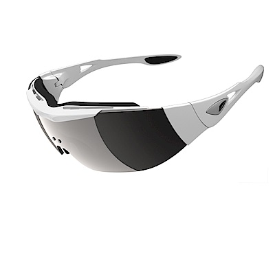 【ADHOC】運動太陽眼鏡-偏光灰片-無框式DARKness Plus