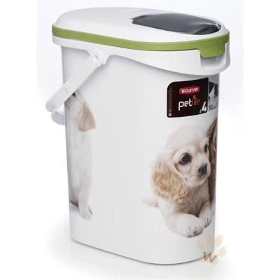 荷蘭CURVER 寵物用儲存桶 狗狗款 4 kg  1 入