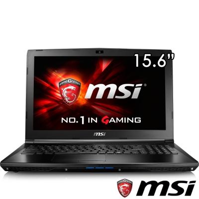 MSI微星 GL62-267 15吋電競筆電(i5-7300/GTX1050/1T/4G/FHD