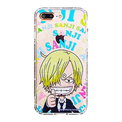 For iPhone7 plus/iPhone8 plus航海王彩繪氣墊防撞保護...