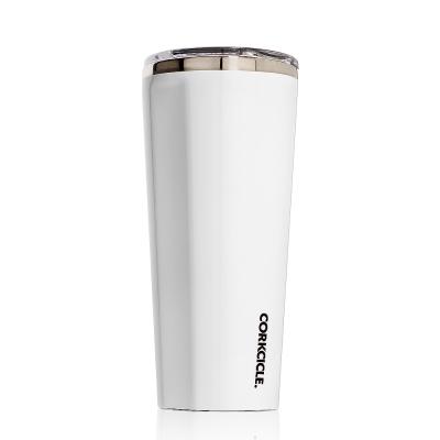 CORKCICLE 酷仕客Waterman戶外系列三層不鏽鋼寬口保溫杯-710ml (消光白)