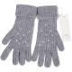PINKO 灰色貼飾條紋針織手套(64%WOOL) product thumbnail 1