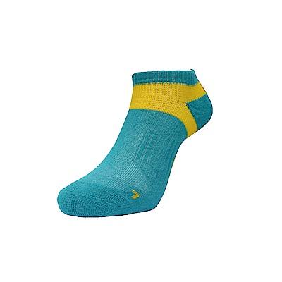 AREX SPOR 足弓支撐機能健走襪-男-粉綠黃