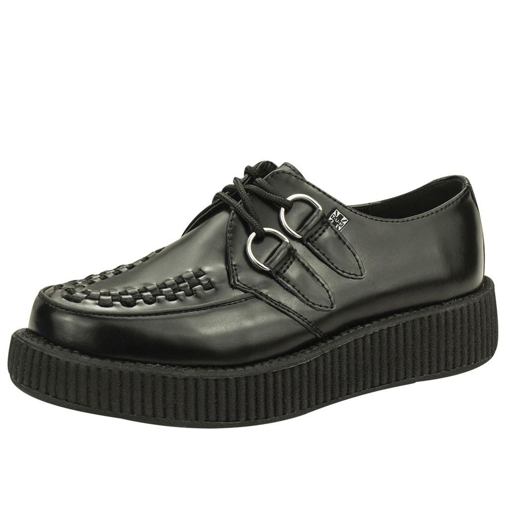TUK VIVA輕量經典龐克鞋-3CM-黑