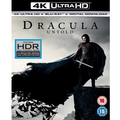 德古拉:永咒傳奇 4K UHD + BD 雙碟版  藍光 BD