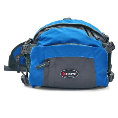 迪伯特 DIBOTE 多功能戶外休閒腰包/背包/旅遊包/臀包/相機包(天藍)
