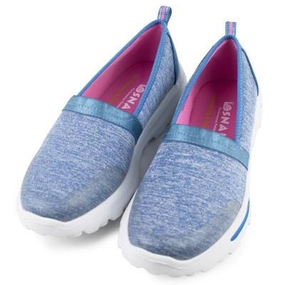 SNAIL-女休閒鞋SW017LBE-藍
