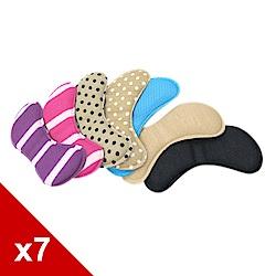 糊塗鞋匠 優質鞋材 F20 海棉蝴蝶後跟貼 (7雙/組)