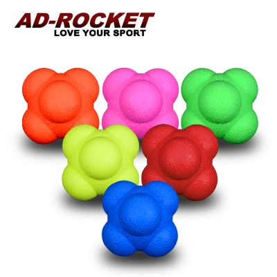 【AD-ROCKET】六角反應訓練球超值四入組