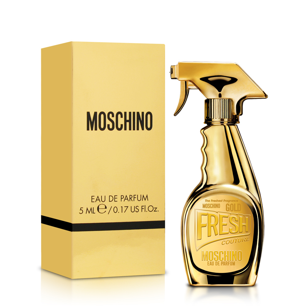 MOSCHINO 亮金金女性淡香精小香5ml product image 1