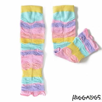 Huggalugs 彩虹荷葉抓皺手襪套