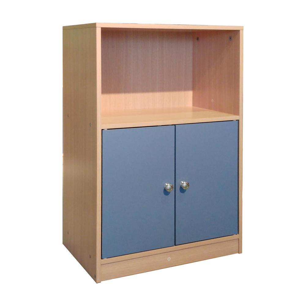 悅家居 空間大師雙門單格櫃-48x29x73.8cm