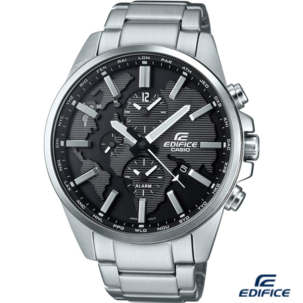 EDIFICE 多功能鬧鈴計時腕錶(ETD-300D-1A)-46.3mm