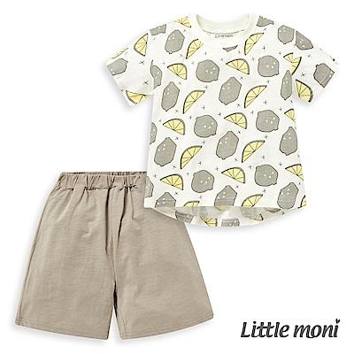 Little moni 家居系列短袖套裝 (共2色)