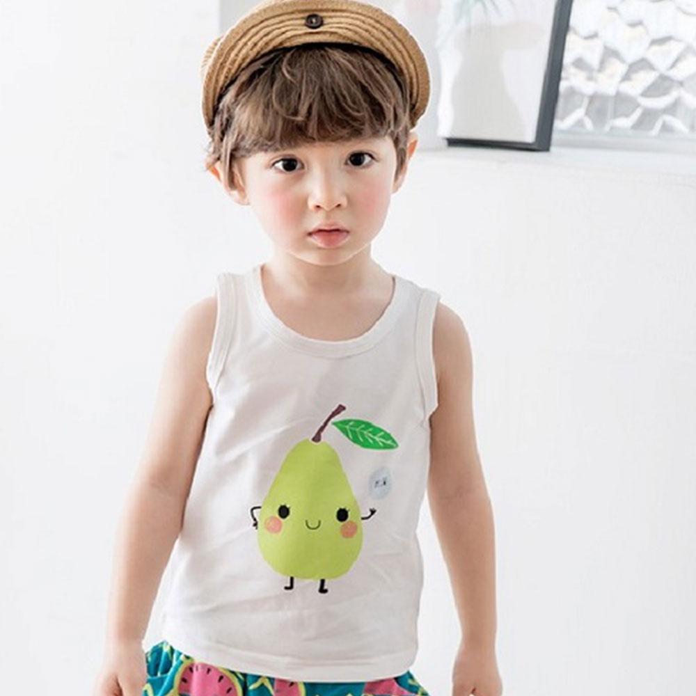 BEBEZOO 俏皮水果系列無袖上衣