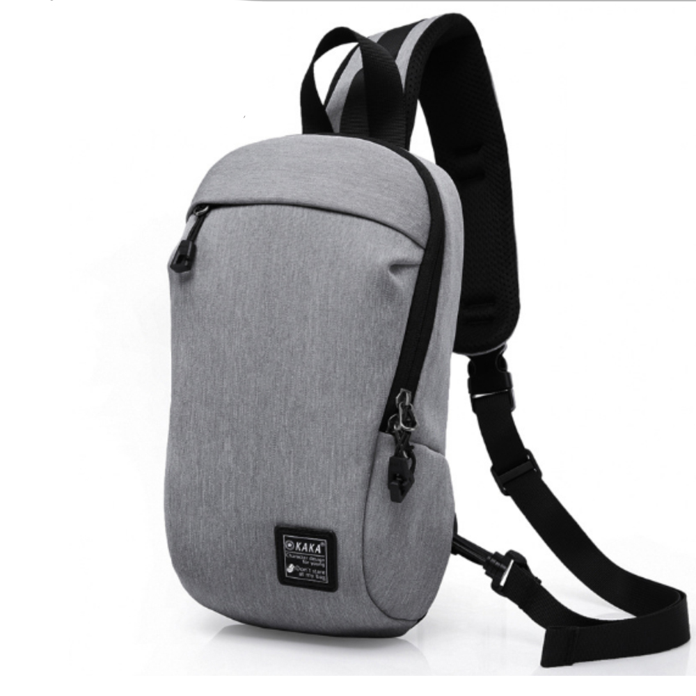 leaper 防盜休閒單肩包胸包 共3色 product image 1