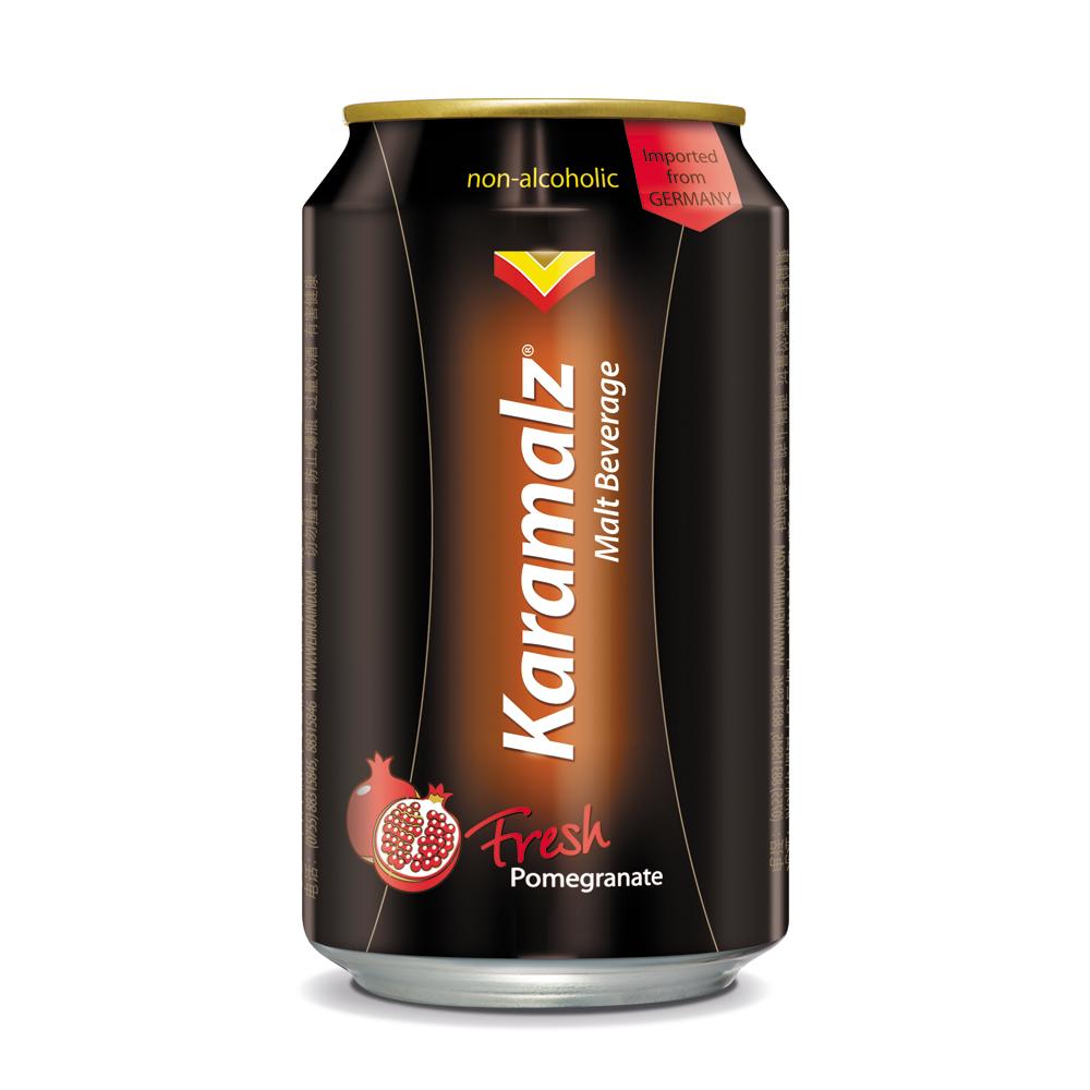 德國進口卡麥隆黑麥汁Karamalz-紅石榴(330mlx24入)
