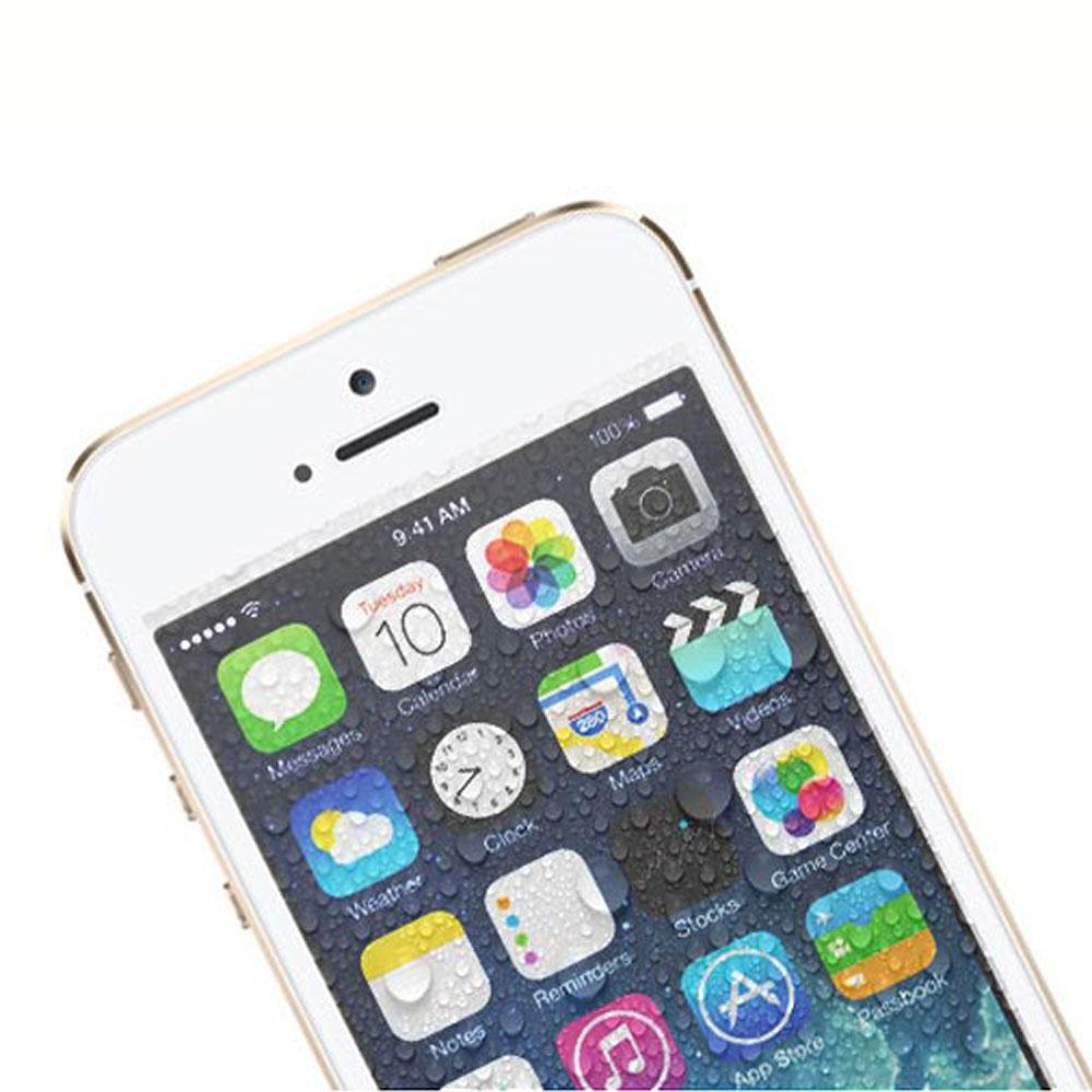 iMos iPhone5/5S/SE/5c正面超抗潑水疏保護