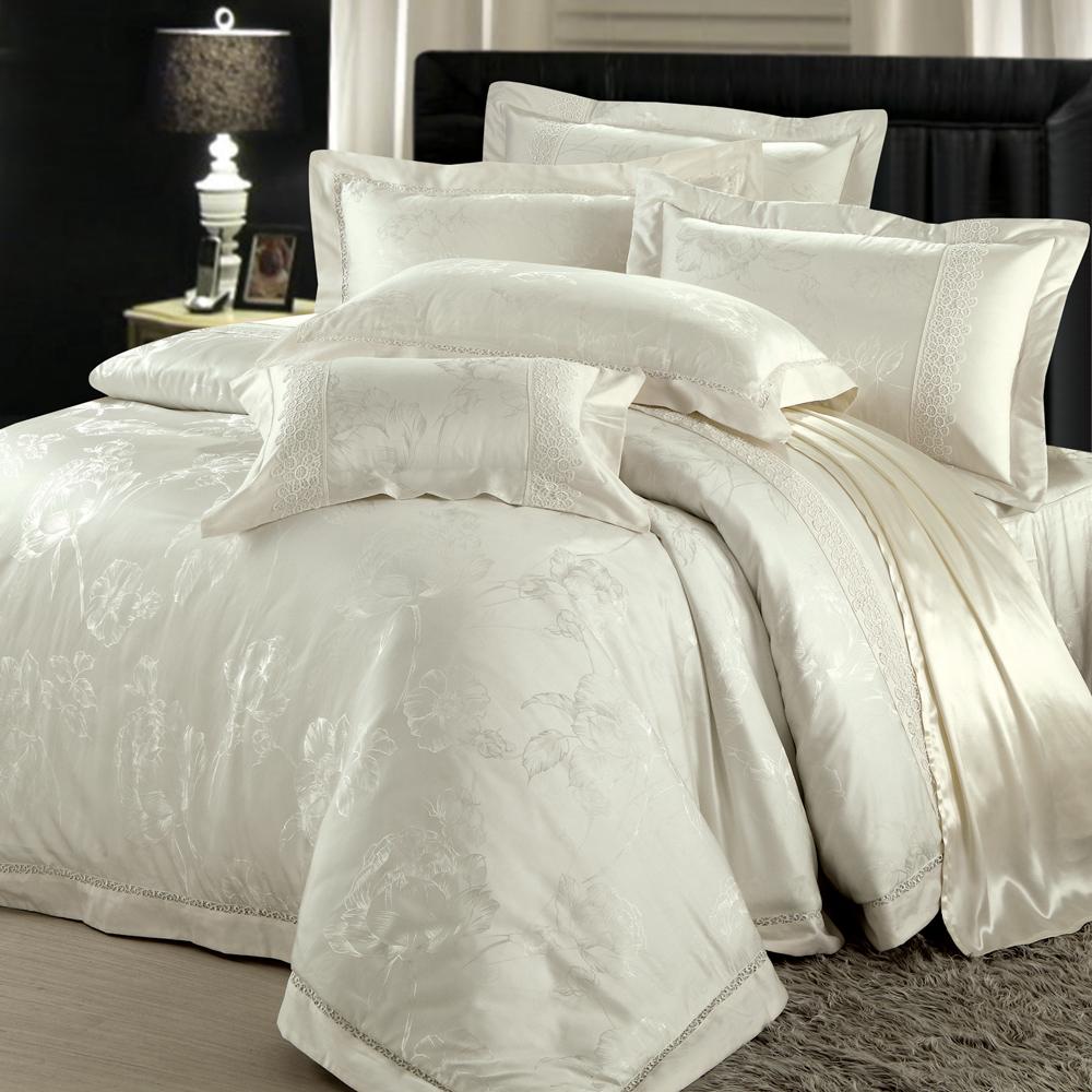 法國MONTAGUT - 精緻典藏 - 雙人七件式鋪棉床罩組