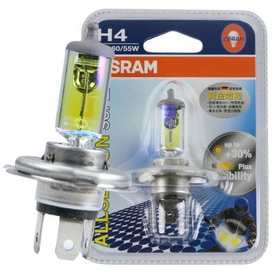 OSRAM 機車黃金燈泡 12V/60/55W 公司貨/H4