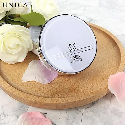 UNICAT變臉貓 韓式輕透水潤無暇CC氣墊霜 (CC霜氣墊粉餅) 蘆薈保濕配方