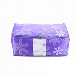 iSFun 居家收納 大號透視棉被袋 4色可選56X40X26cm