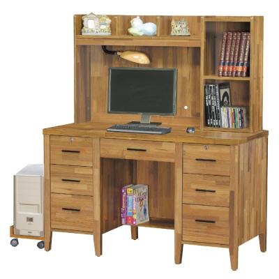 品家居-羅比4-2尺書桌-電腦桌組合含主機架-12