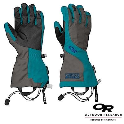【Outdoor Research】女 Gore-Tex 雙層防風防水透氣保暖手套_藍