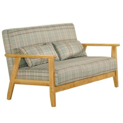 沙發 雙人座 都克 實木布面沙發 品家居